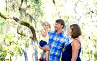 Family and maternity portrait in Tampa Florida